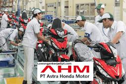 Lowongan Kerja PT Astra Honda Motor (AHM) Tahun 2021