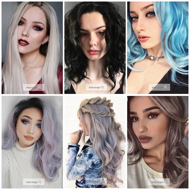 Inspiration by UniWigs: Trendy Wigs