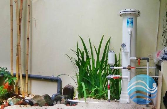 Filter Air Sumur Kuning Keruh Bau