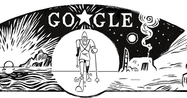 Fridtjof Nansen Google Doodle
