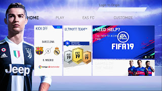 FIFA 19 Mobile Android Offline PS4 MOD 800 MB Best Graphics