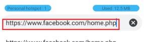 method 1 facebook desktop