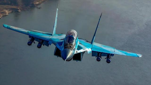Rusia blindará su base en Siria con nuevos cazas MiG-35