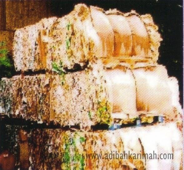 Pad Bio Seleza tidak menggunakan bahan kitar semula sebagai ramuan utamanya
