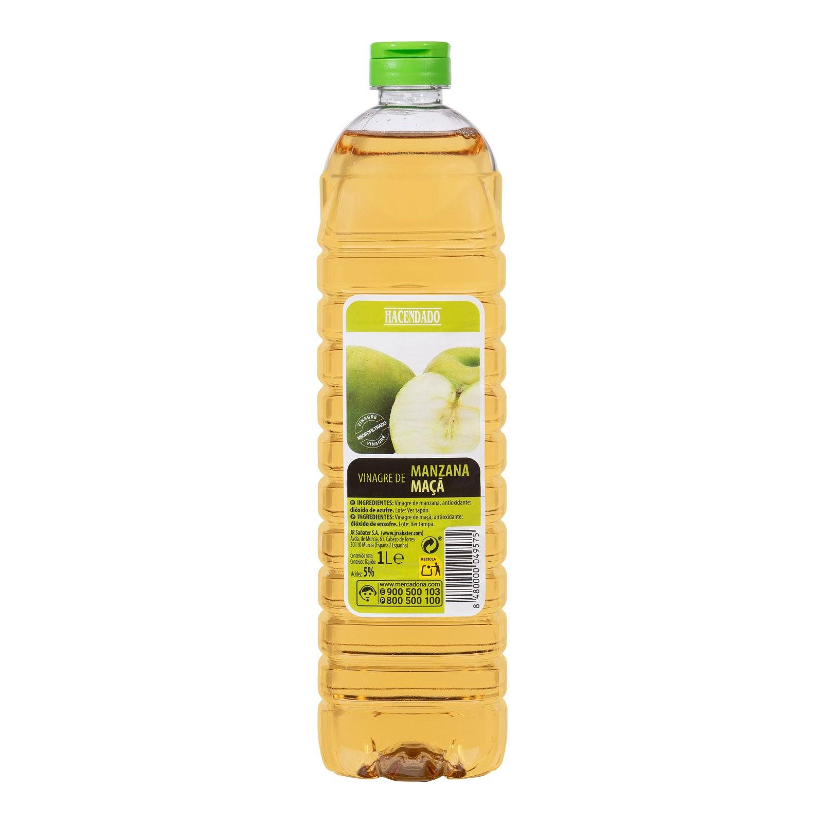 Vinagre de manzana Hacendado