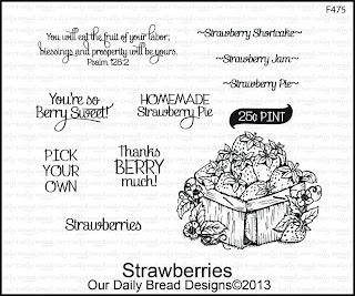 Our Daily Bread Designs, Strawberries