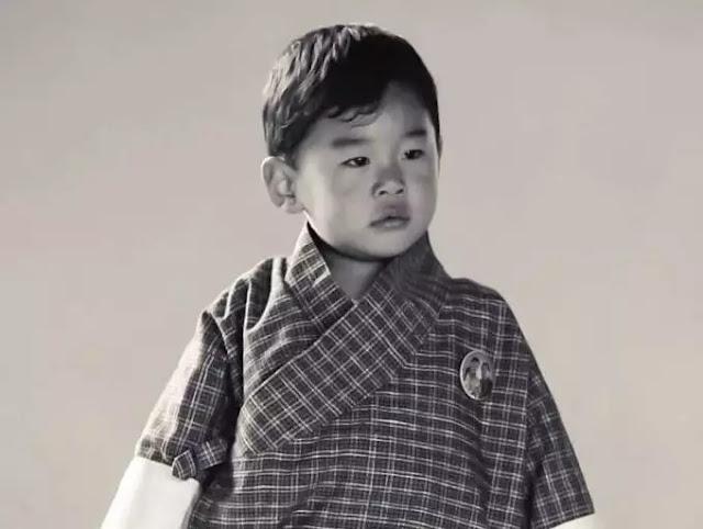 Prince Jigme Namgyel Wangchuck of Bhutan