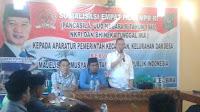 Sosialisasi Empat Pilar, Rudi Mbojo Gandeng Ketua DPP BM PAN