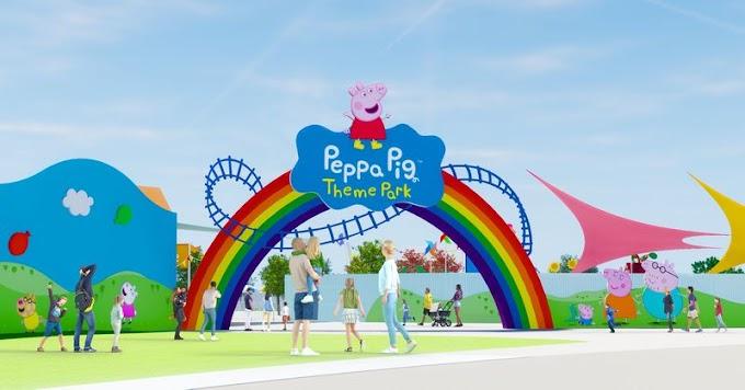 Orlando receberá o primeiro parque temático da Peppa Pig em 2022!
