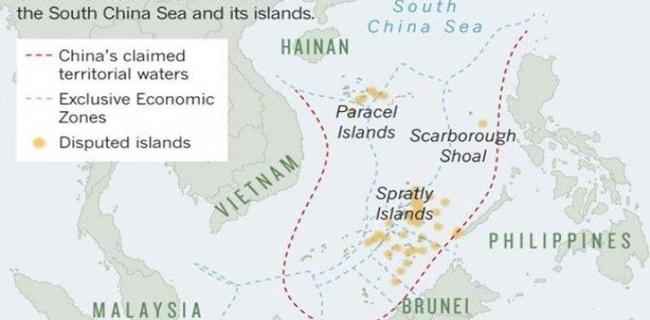 Indonesia Surati PBB Tolak Klaim Beijing Atas Laut China Selatan
