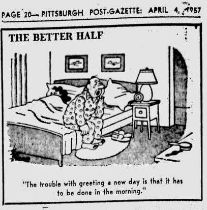 Jeannette's take on life: PITTSBURGH POST GAZETTE APRIL 4