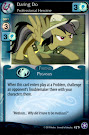 My Little Pony Daring Do, Professional Heroine The Crystal Games CCG Card