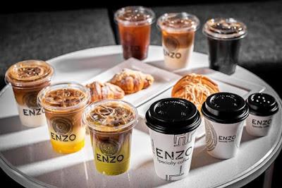 انزو قهوة مختصة | المنيو واوقات العمل والعنوان