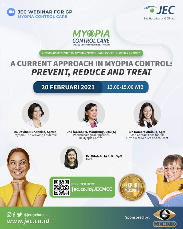 """Free SKP IDI"""" A Current Approach in Myopia Control: Prevent, Reduce and Treat"""""""