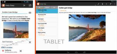 Aplikasi Blogger