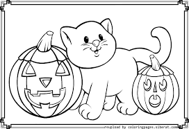 funny halloween Coloring pages