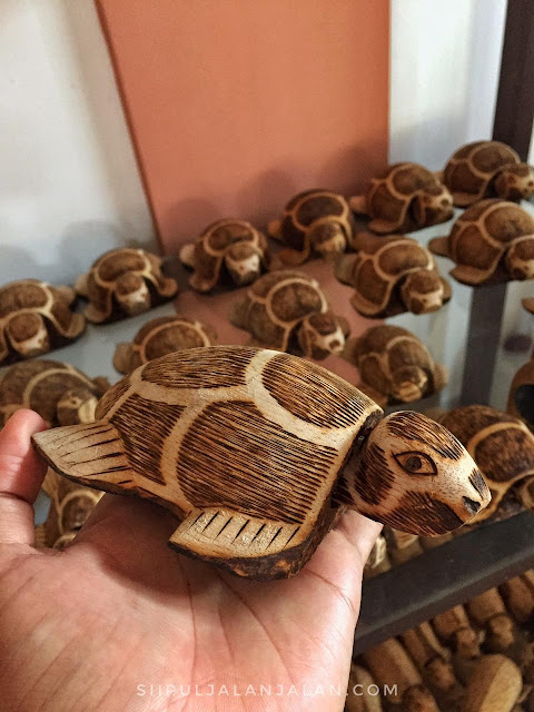 Kerajinan Batik Kayu Desa Wisata Krebet