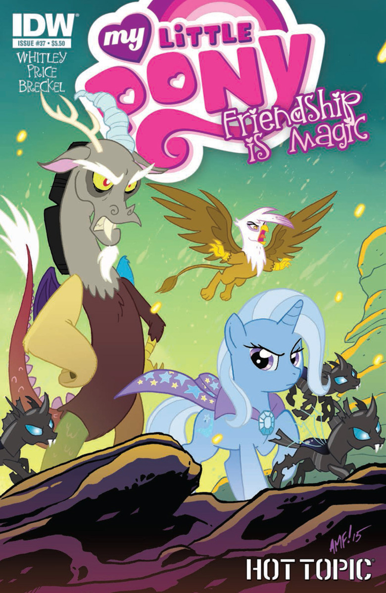 Hot Topic Variant Of Friendship Is Magic 37 Now Available