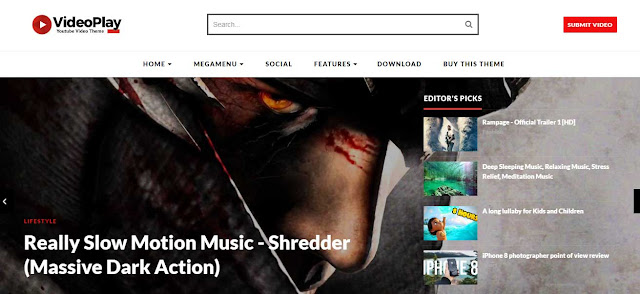 VideoPlay-Blogger-Template