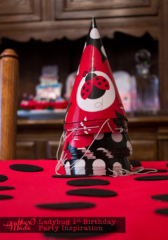 Ladybug 1st Birthday Party Inspiration