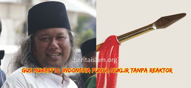 Gus Muwafiq: Indonesia Punya Nuklir Tanpa Reaktor di Tumbak Baru Klinting,
