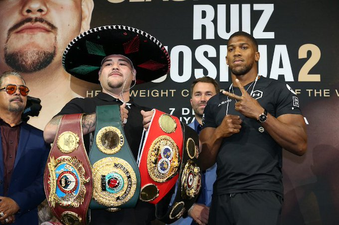Anthony Joshua to walk away with $85M, Win or lose