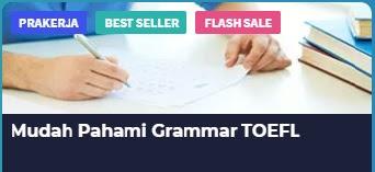 Mudah pahami grammar toefl di skill academy