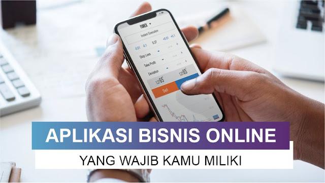 aplikasi bisnis online yang harus dimiliki pebisnis