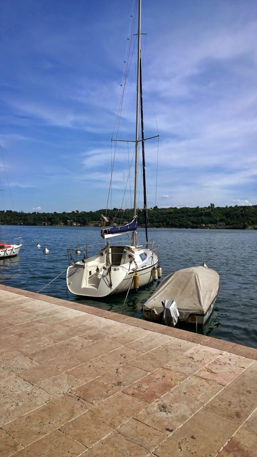 Boats at Salò, Lake Garda - Barche a Salò, Lago di Garda