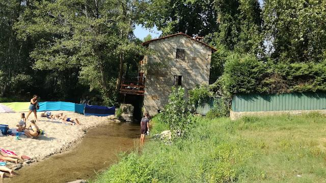 Casa da Moleira ao lado da Praia Fluvial