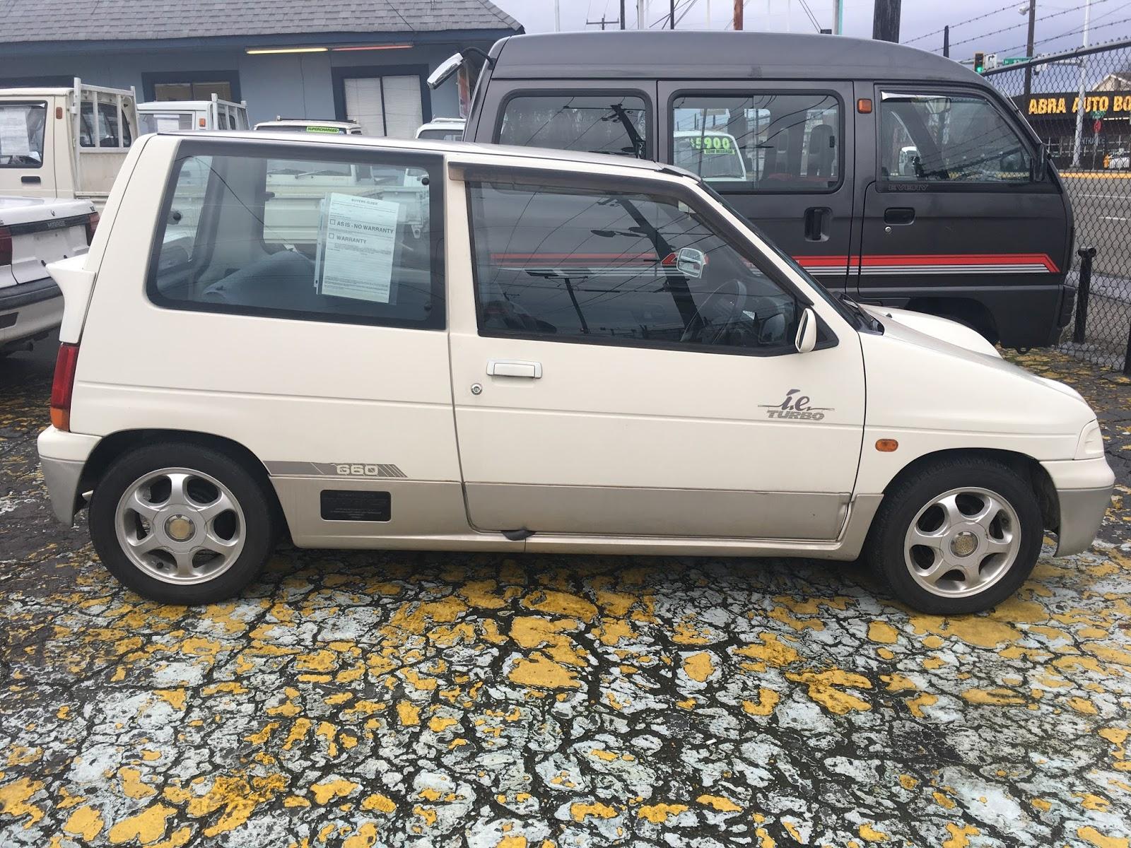 Seattle\'s Old Cars: 1990 Suzuki Alto Works