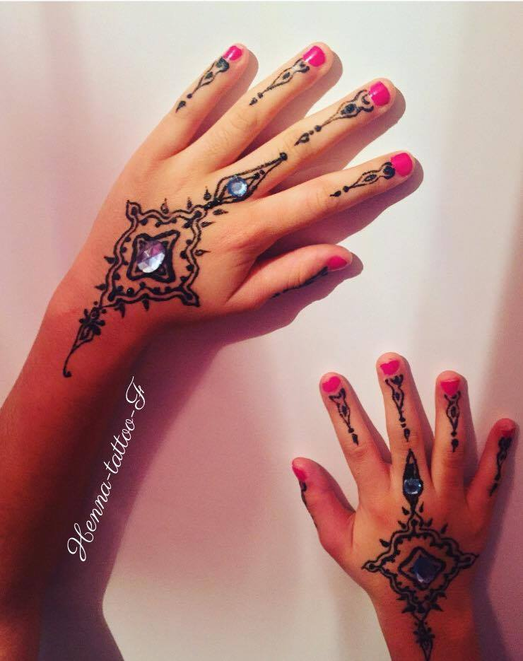 Henna Tattoo By F Février 2016