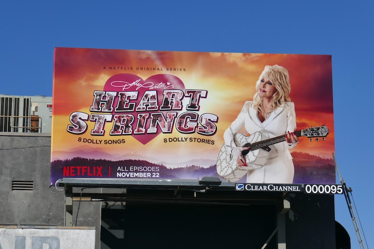 Dolly Partons Heartstrings Netflix series billboard