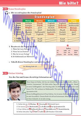 9. Sınıf Almanca A1.1 Ders Kitabı Cevapları Sayfa 25