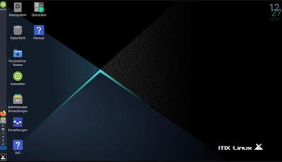 Avvio MX Linux