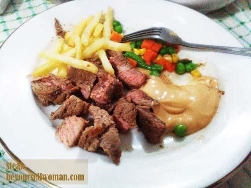 resep olahan daging sapi, steak