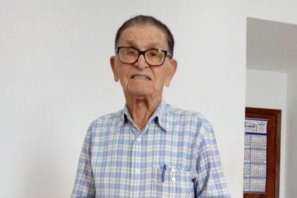 """Com 102 anos bem vividos, partiu Miguel Rodrigues da Silva, neste domingo (18). """"Homem de caráter íntegro, simples, batalhador"""