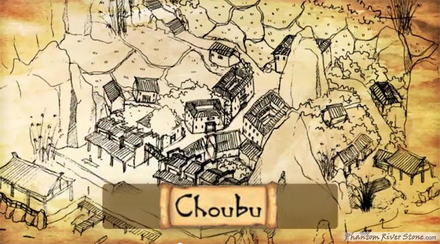 Early concept sketch of Choubu  (Kickstarter Update #15)