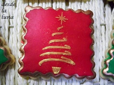 Galletas Decoradas Arbol De Navidad