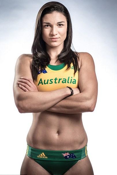 atlet lempar lembing cantik atlet cantik malaysia atlet tenis meja cantik atlet cantik olimpiade Michelle Jenneke