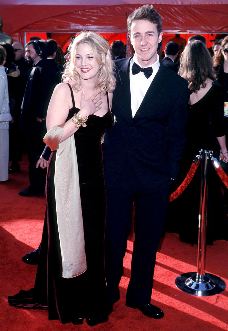Edward norton and drew barrymore dating drummer