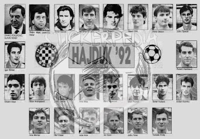 Hajduk Split prvak HNL-a 1992