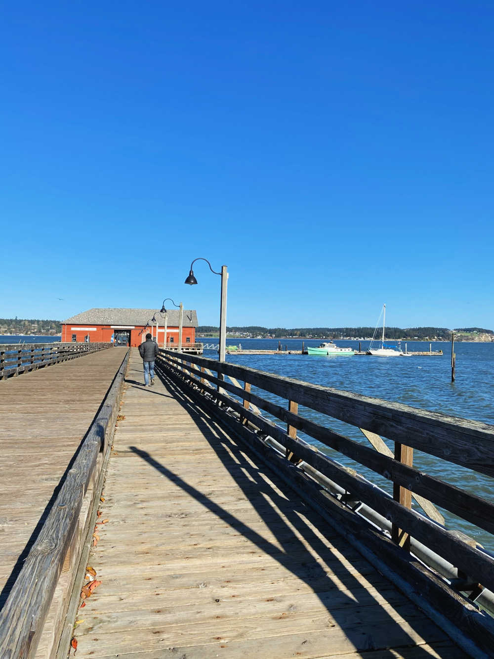 wharf in coupeville, wa