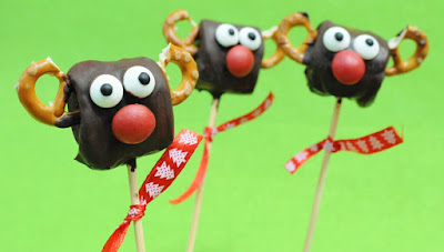 Piruletas de renos Receta de Navidad