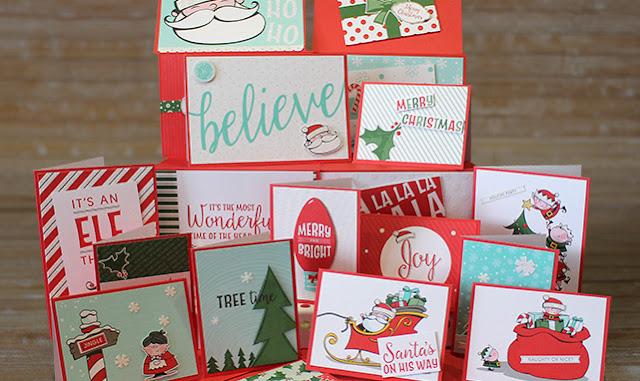 Card kit- Santa's Workshop