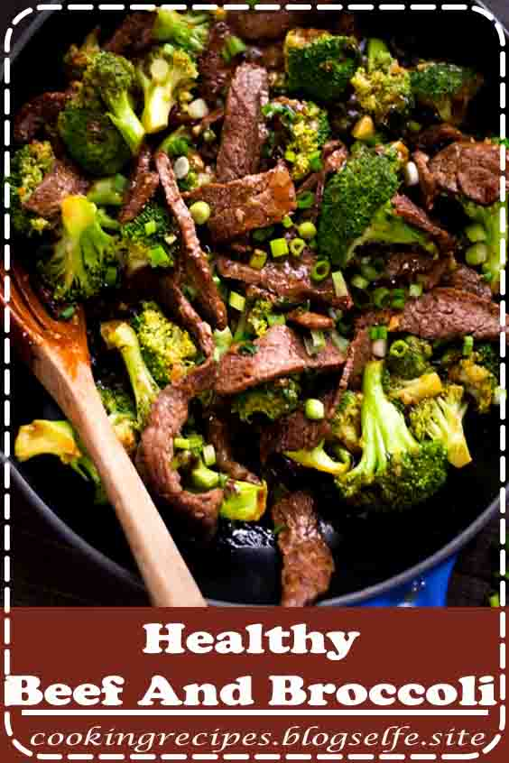 4.8 ★★★★★ | Healthy Beef and Broccoli - This favorite food is very easy to cook at home, and BONUS - gluten-free food and approved by the Whole30! | #healthy #dinner #recipes #for family #beef #clean eating