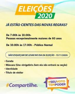 Idosos terão horário preferencial para votar, das 7h às 10h, confirma vice-presidente do TRE-PB