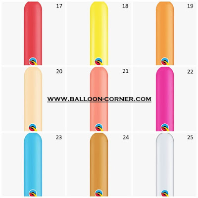 Balon Pentil / Balon Twisting 350Q (QUALATEX)