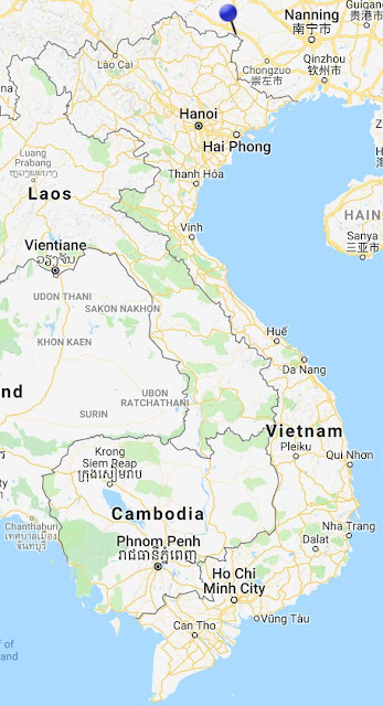 pin point map ban gioc vietnam