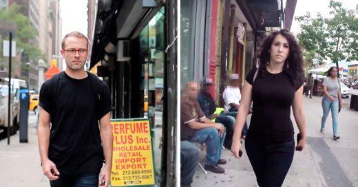 Hombre filma acoso por las calles de Nueva York